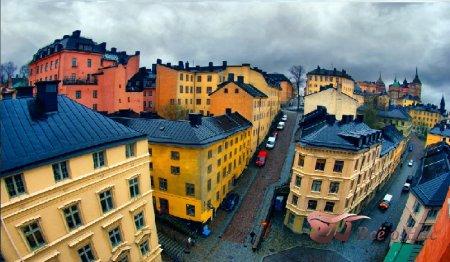 Стокгольм - Родина Карлсона!